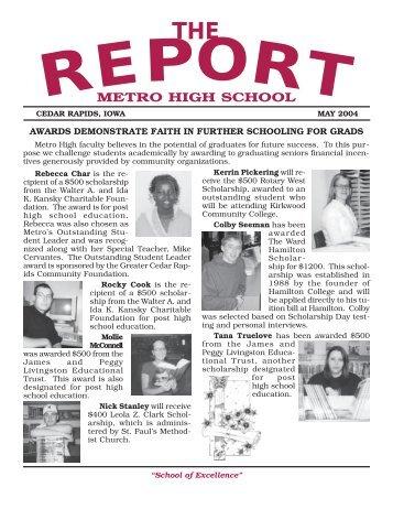 metro 5.21 news - Metro High School