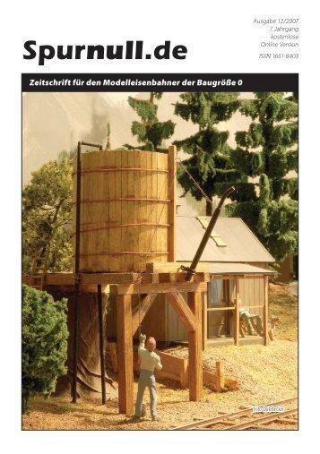 Spurnull.de - Ausgabe 12/2007