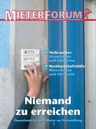 MF_Titel_DO_15 (LAY2/2) - Mieterverein Dortmund und Umgebung eV