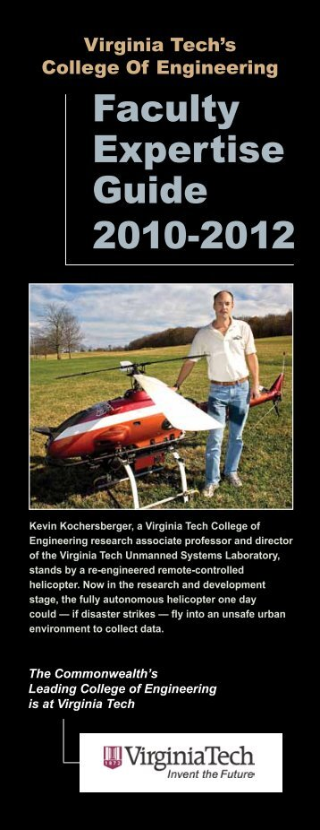 Faculty Expertise Guide - College of Engineering - Virginia Tech