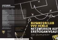 350 Stammspieler - VVV-venlo