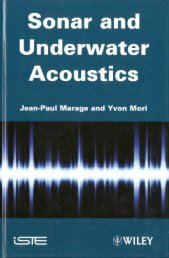 Sonar and Underwater Acoustics - Invemar