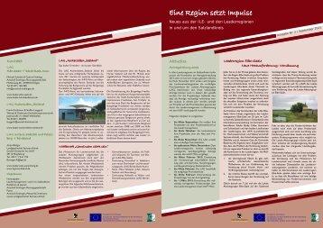 Newsletter 2 - Leader-Netzwerk Sachsen-Anhalt