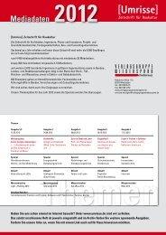 Umrisse Mediadaten 2012