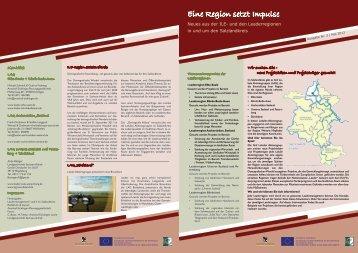Eine Region setzt Impulse - Leader -Netzwerk in Sachsen-Anhalt