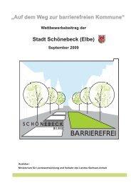"""(Elbe) """"Auf dem Weg zur barrierefreien Kommune"""" - Stadt Schönebeck"""