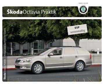 Octavia Praktik Folder & Technische Daten - Skoda