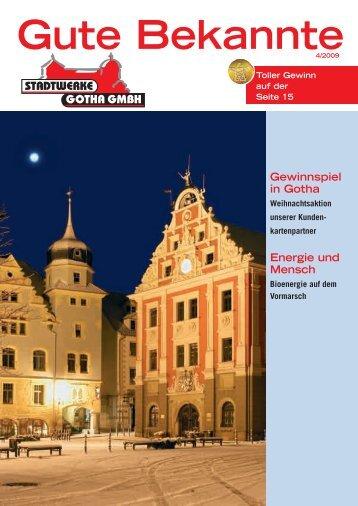 Gute Bekannte - Stadtwerke Gotha