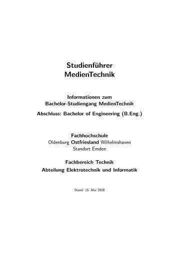 Bachelor Studiengang Elektrotechnik und Automatisierungstechnik