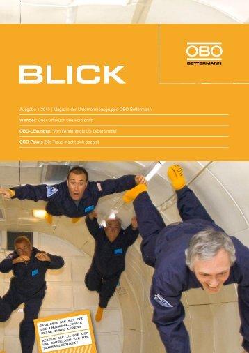 OBO Blick - Ausgabe 1/2010 - OBO Bettermann