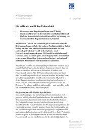 Die Software macht den Unterschied (PDF, 99 KB - ZF ...