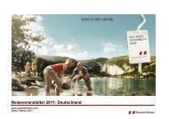 Reiseveranstalter 2011: Deutschland