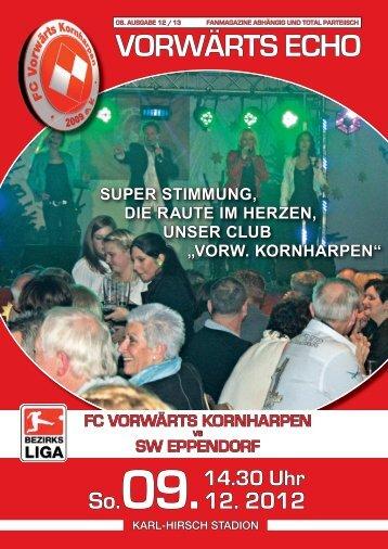 VORWÄRTS ECHO - SV Vorwärts Kornharpen 1929 e.V.