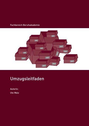 Umzugsleitfaden - Hochschule für Wirtschaft und Recht Berlin