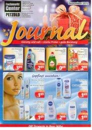 Drogerie Journal - Fachmarkt-Center Petzold