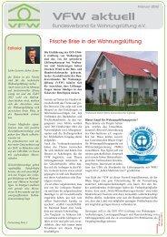 VFW aktuell: Frische Brise in der ... - ENEV-Online.de