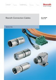 Rexroth Connection Cable - Nuova Elva