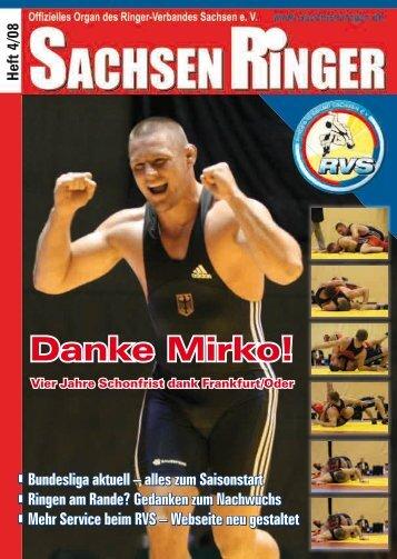 Danke Mirko! - Ringer-Verband Sachsen eV