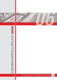 EISENBAHNREGULIERUNG 2006 - Schienen-Control