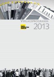 Verlagsprogramm 2013 (Hi-PDF) - Fachschriften-Verlag