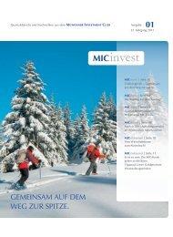 MIC invest - Münchner Investment Club GbR (MIC)
