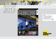 Das intelligente Haus 2013 (PDF) - Fachschriften-Verlag