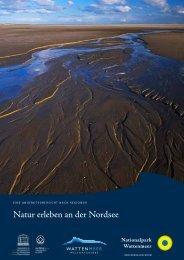Natur erleben an der Nordsee - Nordseetourismus