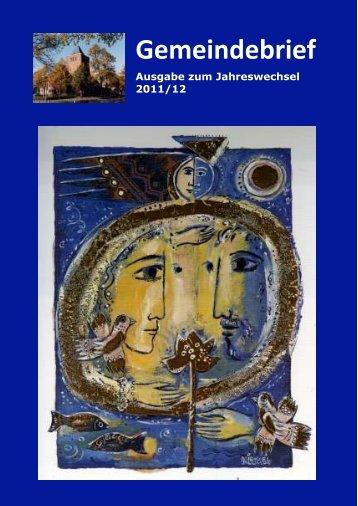 Gemeindebrief 2011 - Erlöser-Kirchengemeinde Münster