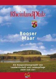 Booser Maar - Dienstleistungszentren Ländlicher Raum