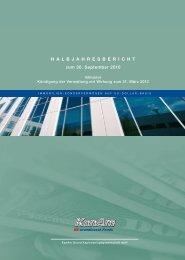 Halbjahresbericht - Stockselection GmbH