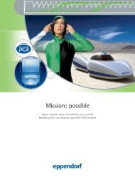 Mission: possible - Eppendorf AG