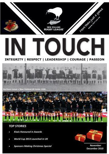 integrity | respect | leadership | courage - NZRL