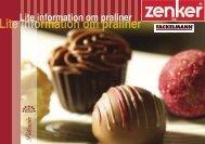 Lite information om  praliner - Fackelmann