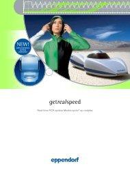 getreal speed - Eppendorf