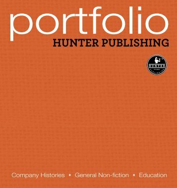 download the portfolio as a PDF - Hunter Publishing