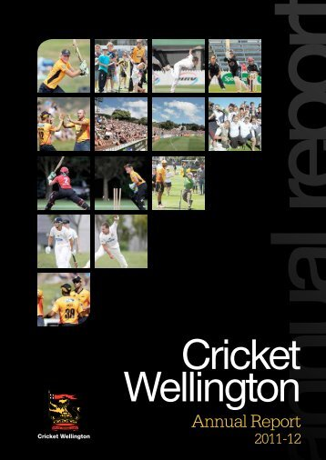 annual report - Wellington Cricket