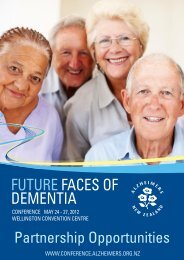 About Alzheimers New Zealand - Future Faces of Dementia ...