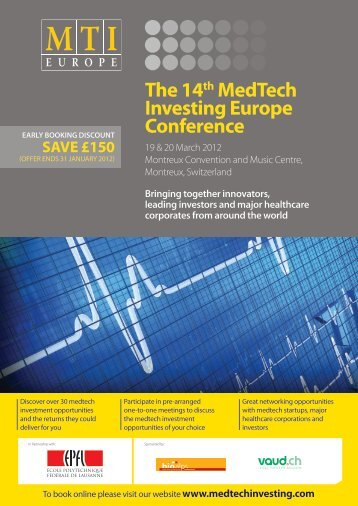 The 14th MedTech Investing Europe Conference - the One Nucleus ...