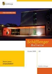 Bulletin 181 en Pdf - Schifflange