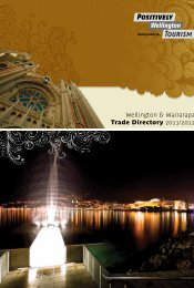 Wellington and Wairarapa Trade Directory