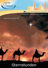 Gemeindebrief Dezember 2010 - Januar 2011 - Ev.-Luth ...