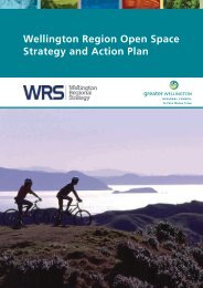 Wellington Region Open Space Strategy and Action Plan