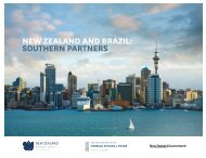 new zealand and brazil: southern partners - New Zealand Ministry of ...