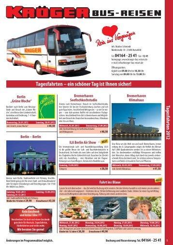 Download Tagesfahrten 2012 - Kröger Bus-Reisen