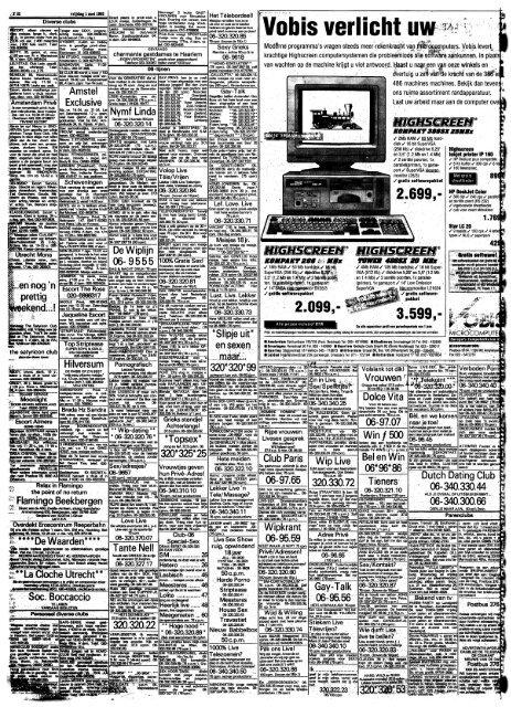 De Telegraaf dating