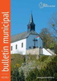 Gemeinderatssitzung vom Freitag, den 27. April 2012 - Grevenmacher