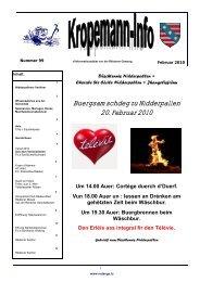 Buergsamschdeg zu Nidderpallen 20. Februar 2010 - Redange sur ...