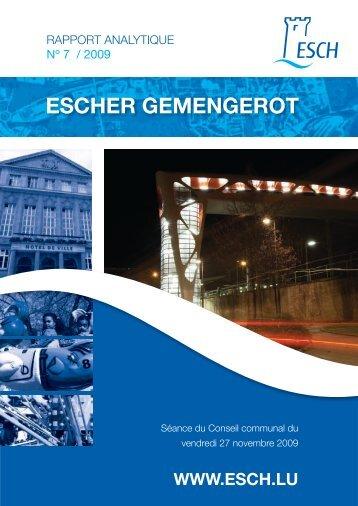 Escher Gemengerot - Esch sur Alzette