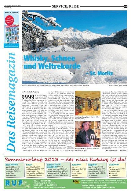 Das Reisemagazin: 15. Dezember 2012 - Marler Zeitung