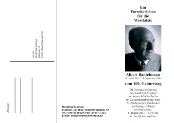 Albert Bantelmann - Nordfriisk Instituut